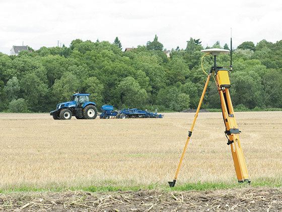 new holland gps empfaenger