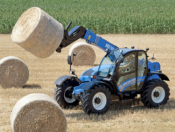 teleskoplader new holland