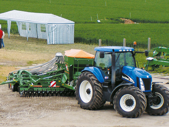 aktive bodenbearbeitung new holland